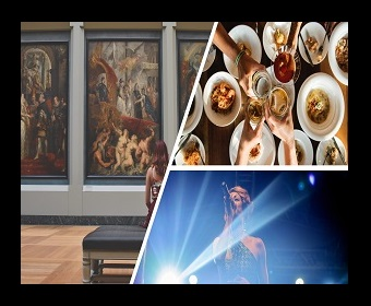MUSEUM, DINNER & OFF BROADWAY NYC -