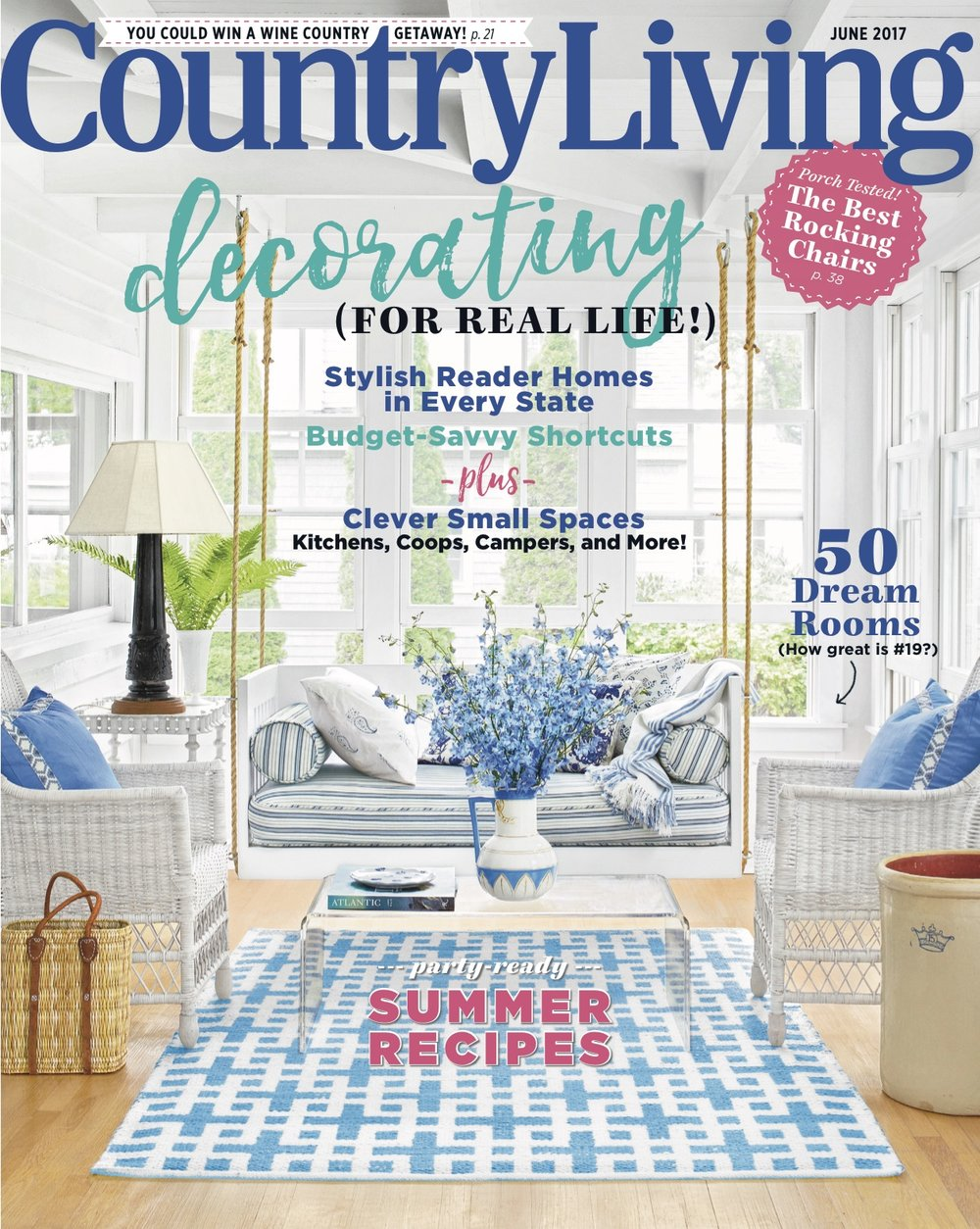 Country Living, June 2017