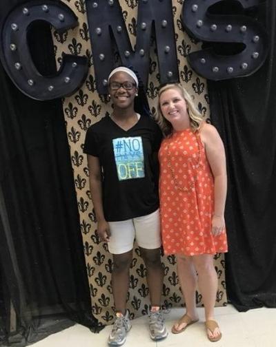 Mentor Erin Moore and Taniyah