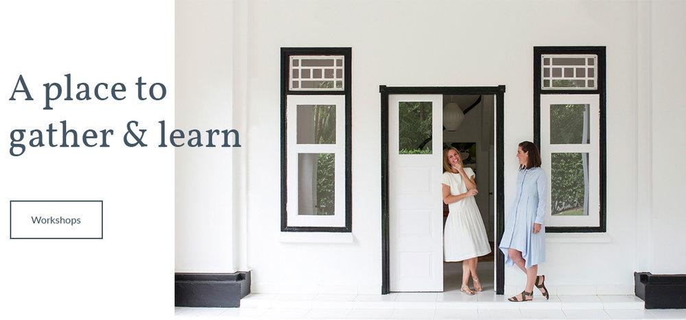 Singapore creative workshops