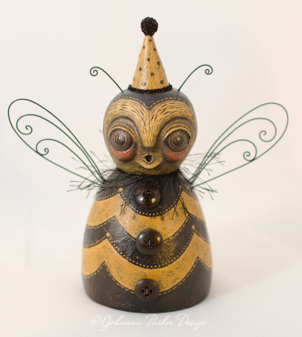 Honey bee sculpture