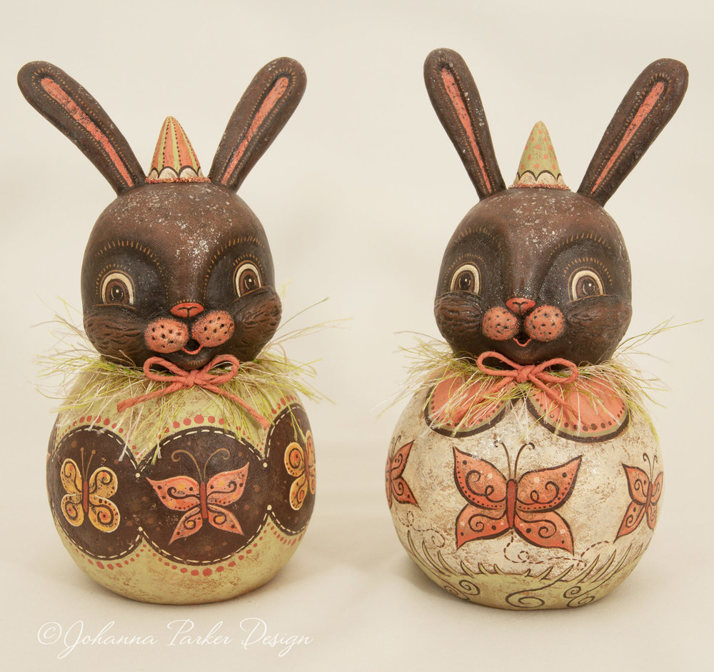 Chocolate butterfly bunnies