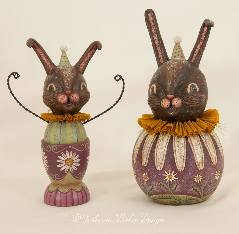 Purple bunny pair