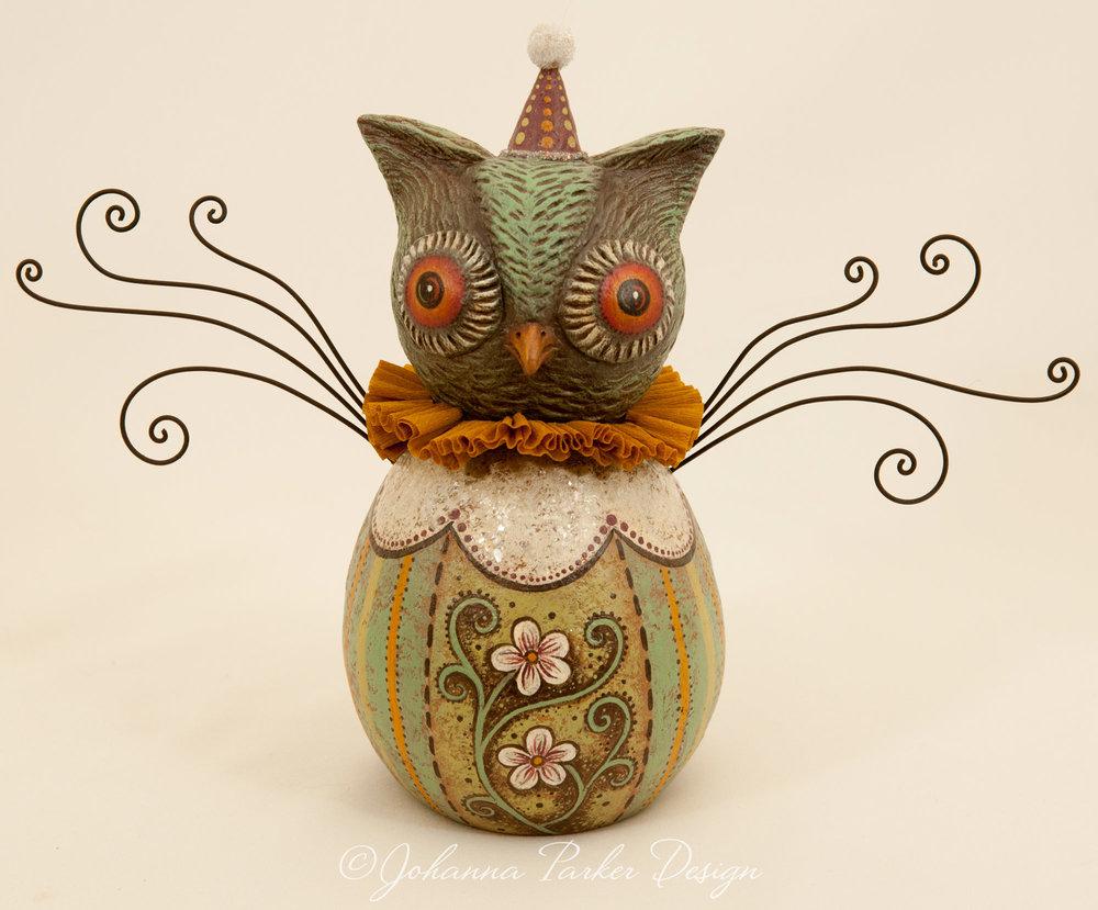 Spring blue owl
