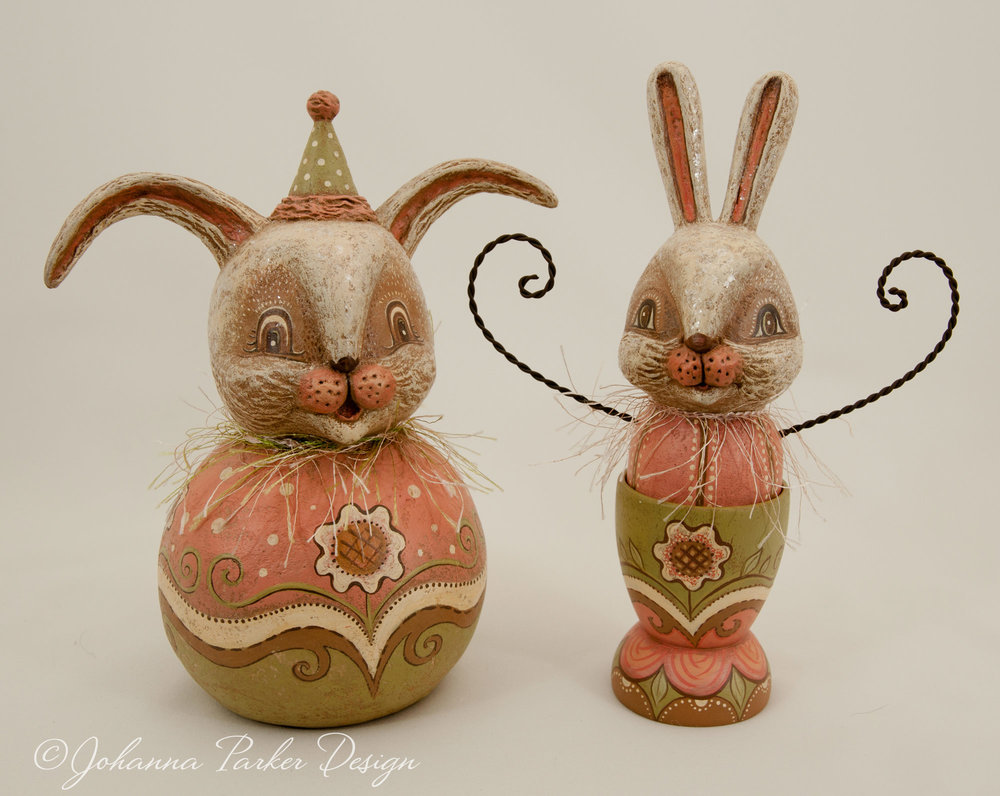 Vanilla bunny pair