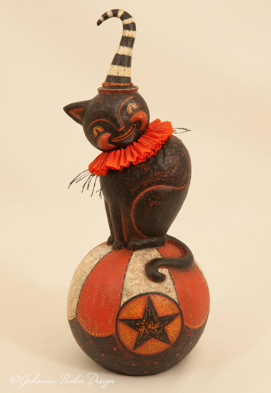 Halloween carnival cat