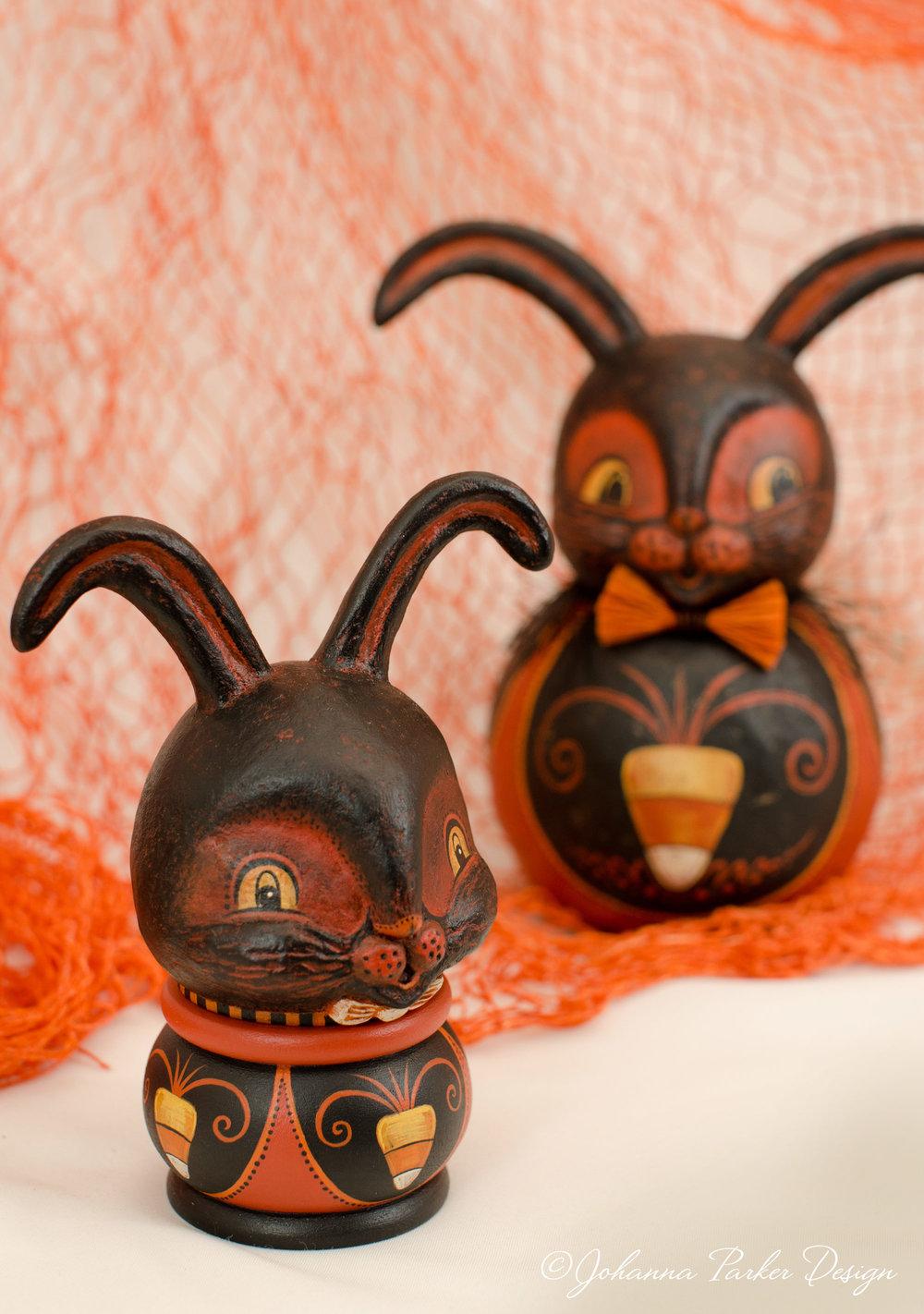 Halloween bunny rabbit