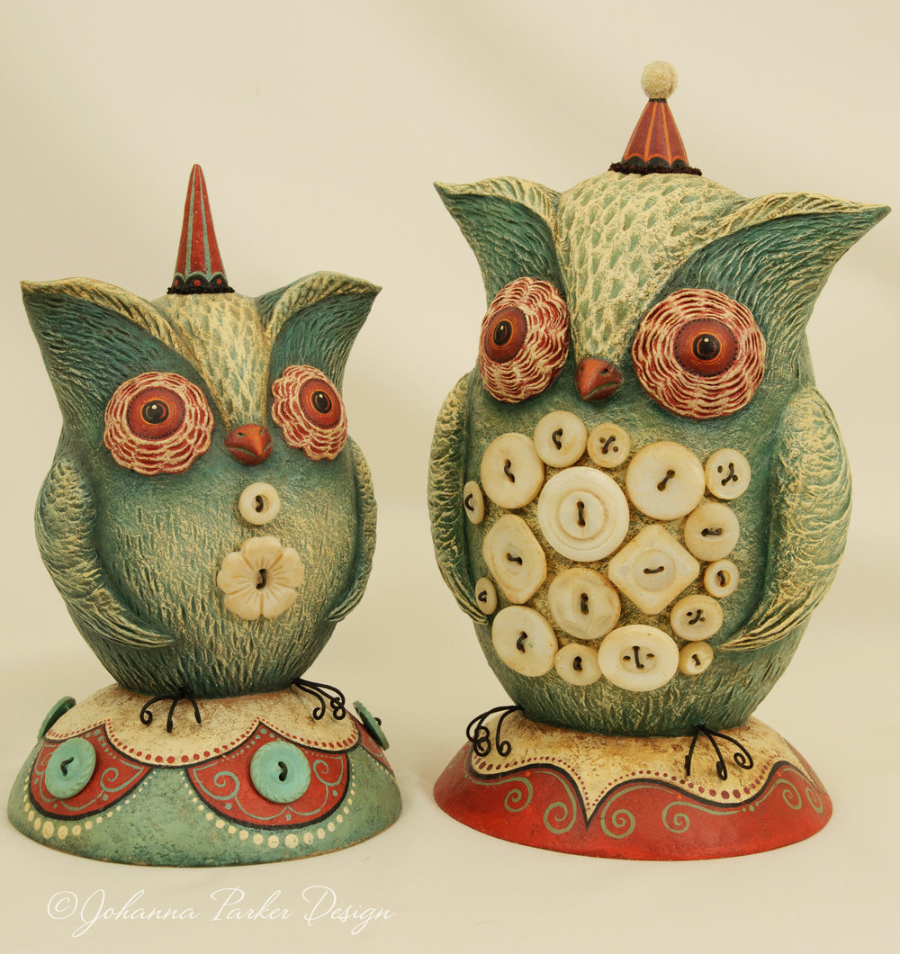 Button belly owls