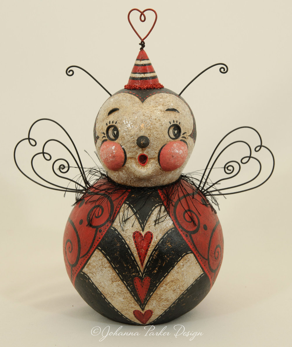 Love bug ball character