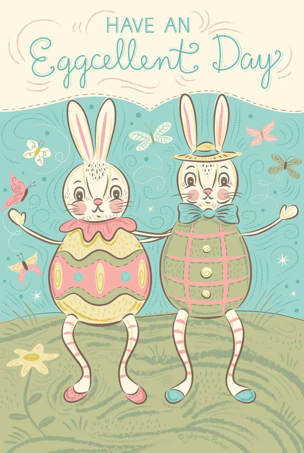 Eggcellent day bunnies