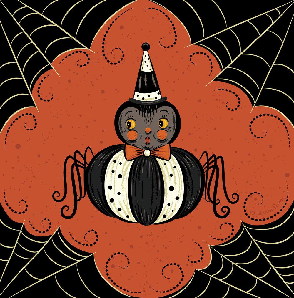 Punkin peep spider