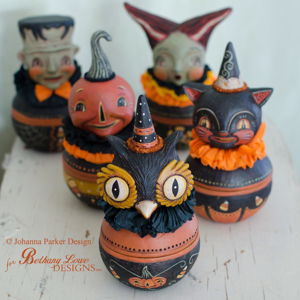 Halloween Candy Bowls ~ Bethany Lowe Designs, Inc.