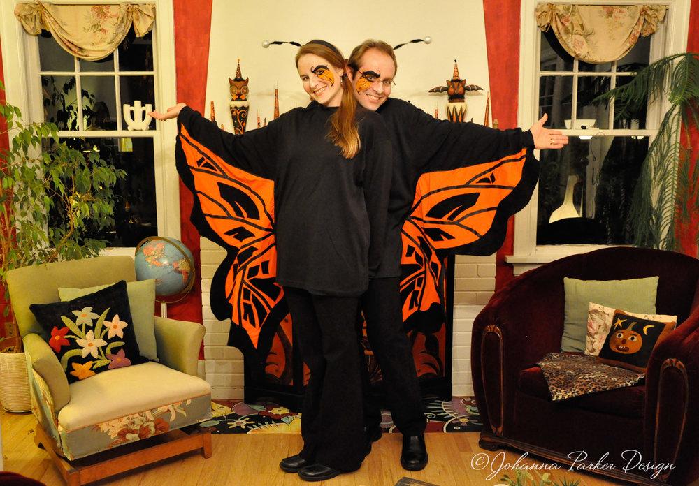 Monarch butterfly halloween costume