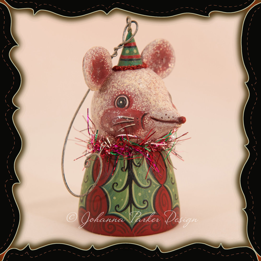 Johanna-Parker-Mouse-Ornament-Bell-Framed.jpg