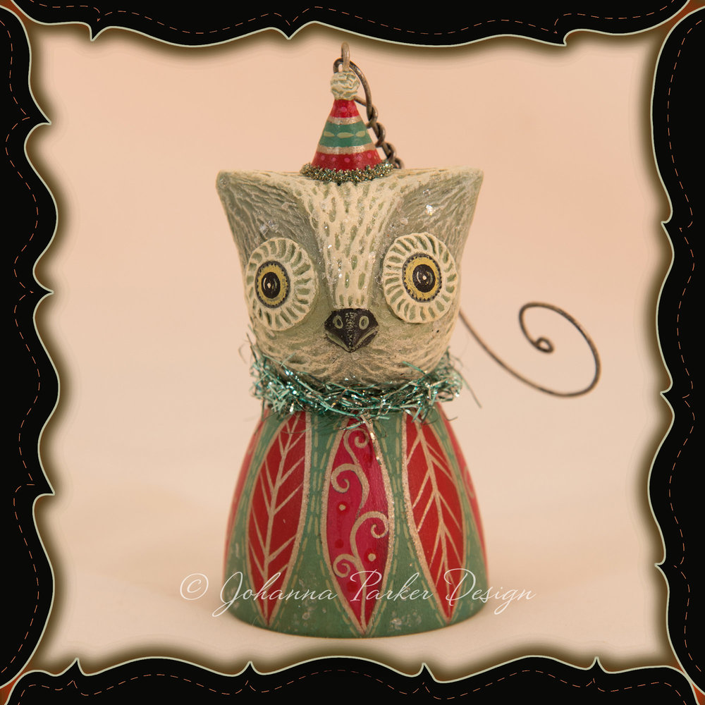 Johanna-Parker-Owl-Feathers-Bell-Ornament-framed.jpg
