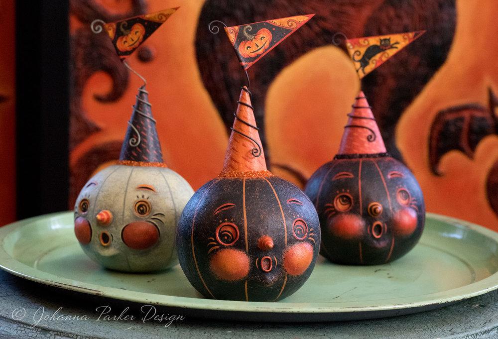 Halloween Pennant Jacks