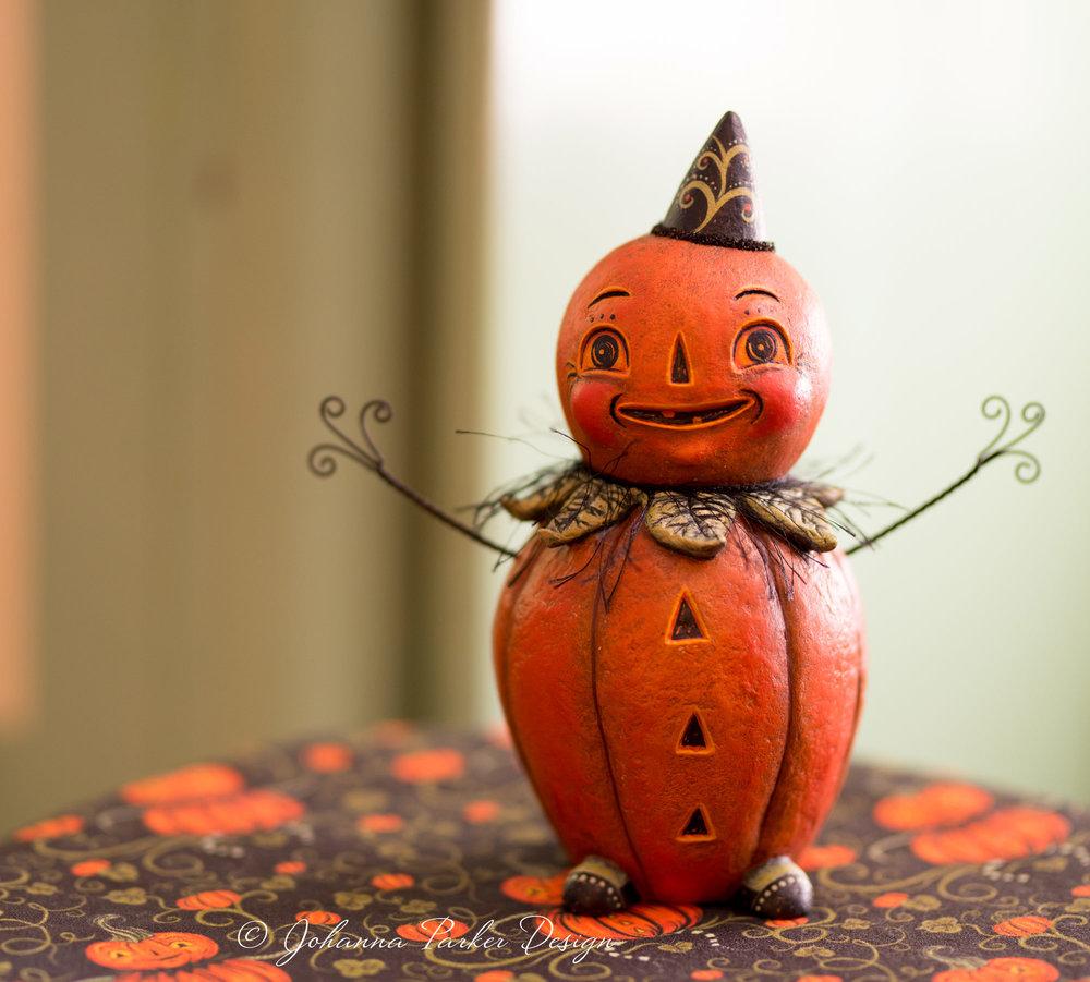 Johanna Parker Pumpkin Man