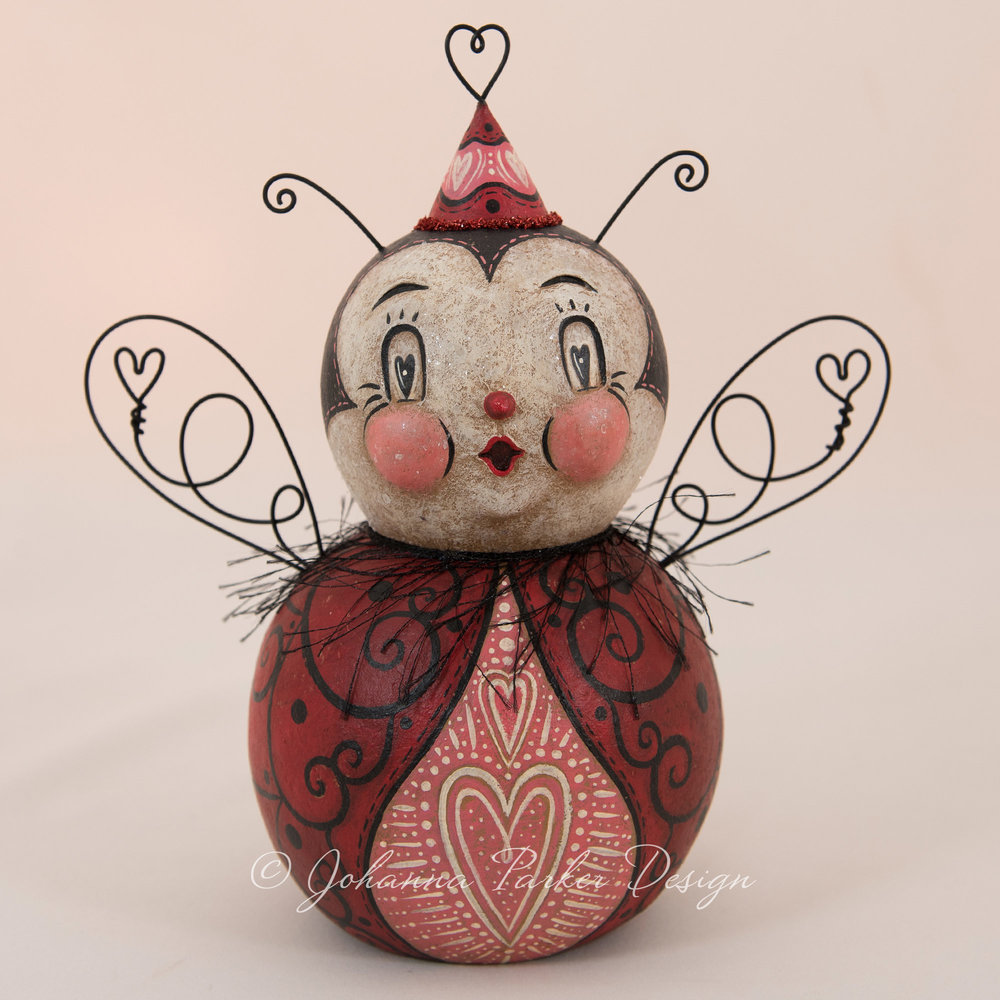 Matilda Heart Valentine Love Bug