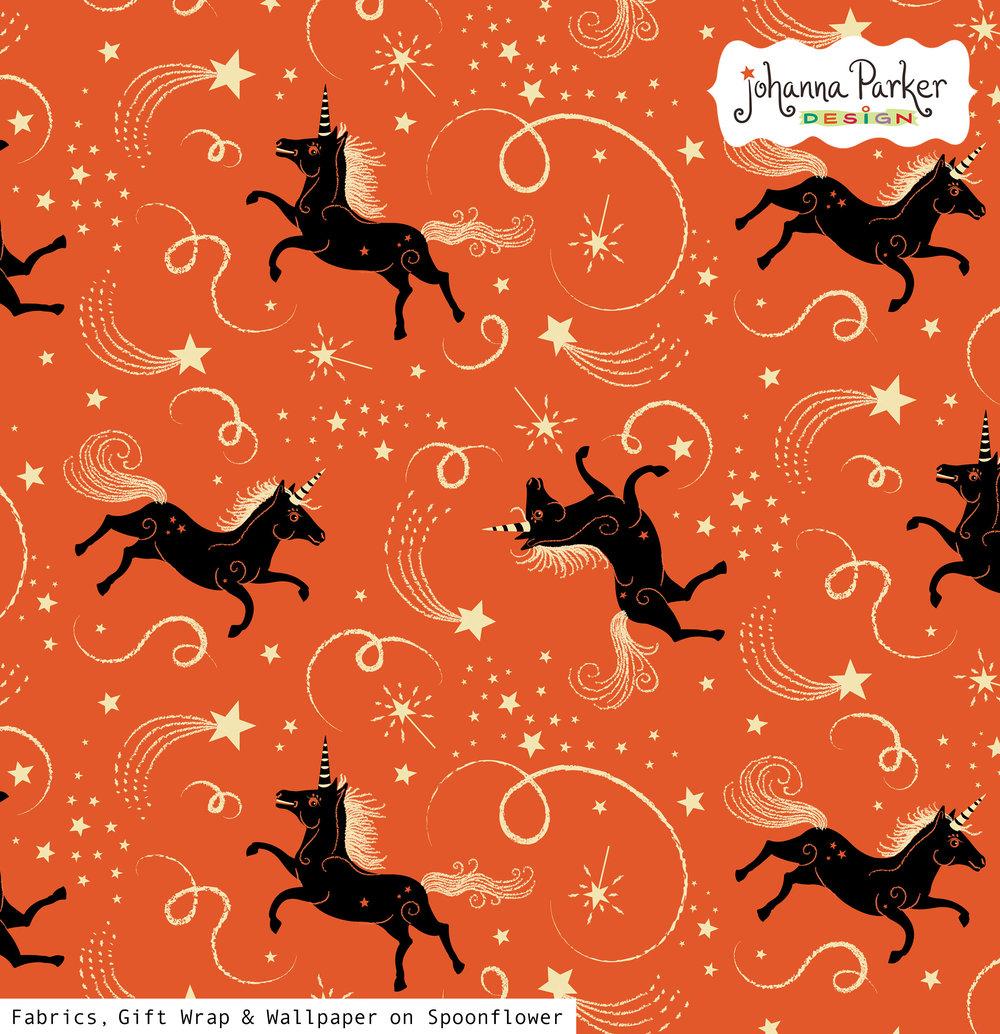 Johanna Parker Halloween Unicorns