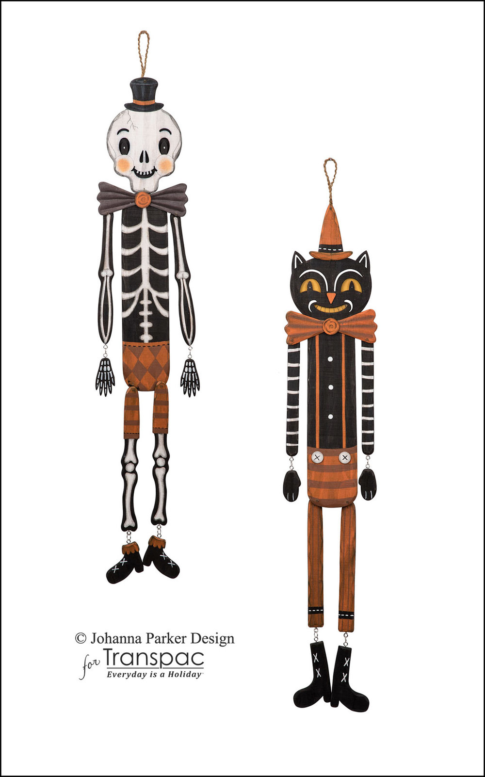 Wooden Halloween Hangers ~ Transpac Imports, Inc.