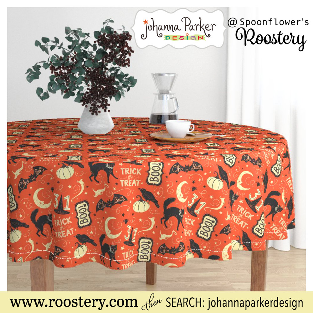 Table Cloths, Pillows, Bedding, Tea Towels, Placemats, Napkins & Wallpaper ~ Spoonflower's Roostery