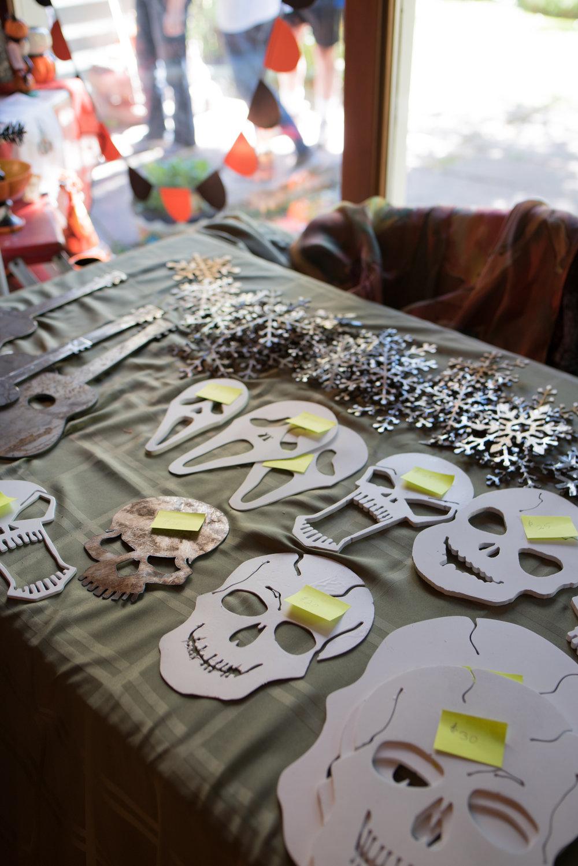 Robert Hickler Skulls & Snowflakes