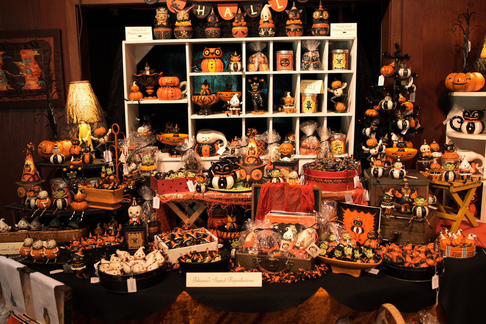 Halloween Display Table