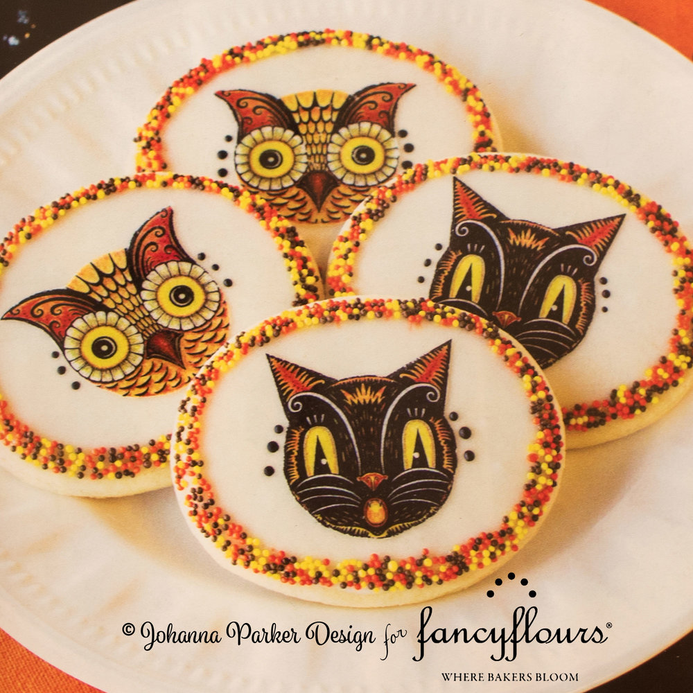 JPD Partners in Craft * Fancy Flours + Johanna Parker Design * Collaboration