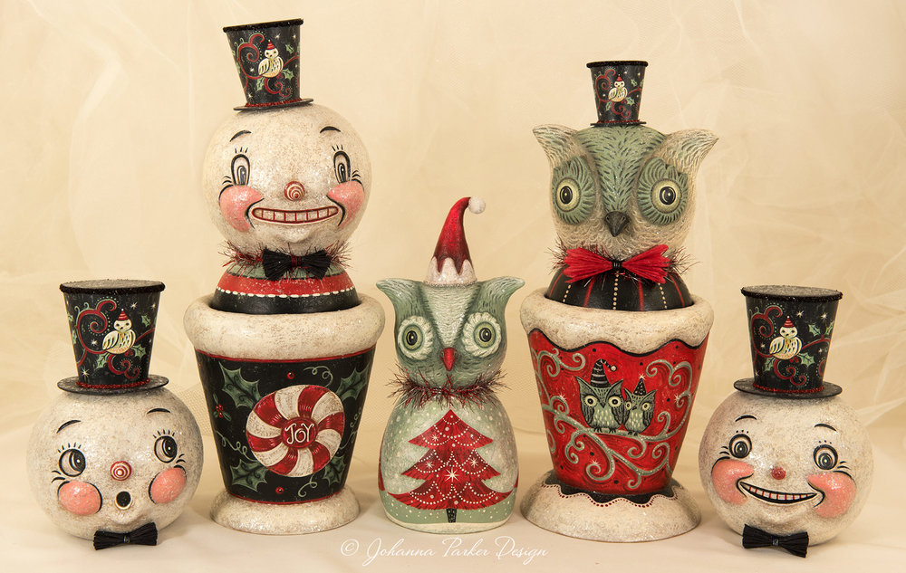 """< BACK to """"A Snowy Howliday"""" Collection"""