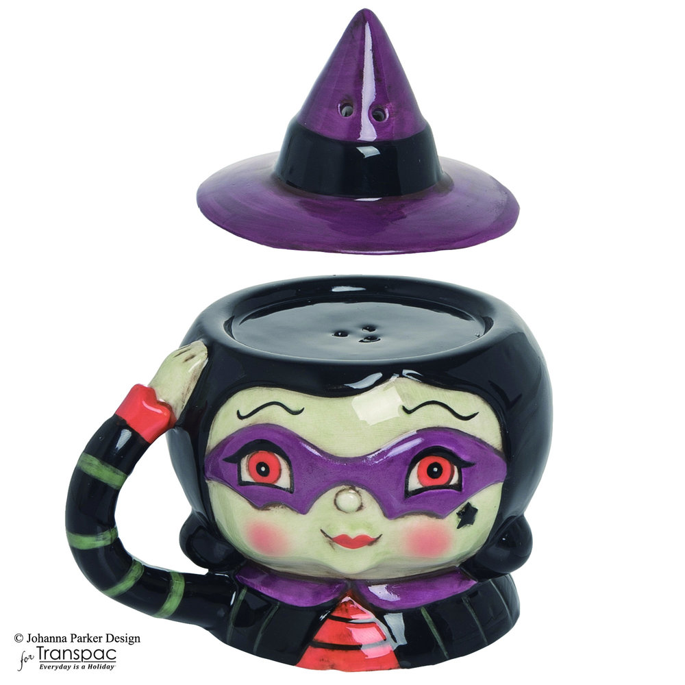 Halloween Salt & Pepper Shaker Witch ~ Transpac Imports, Inc.