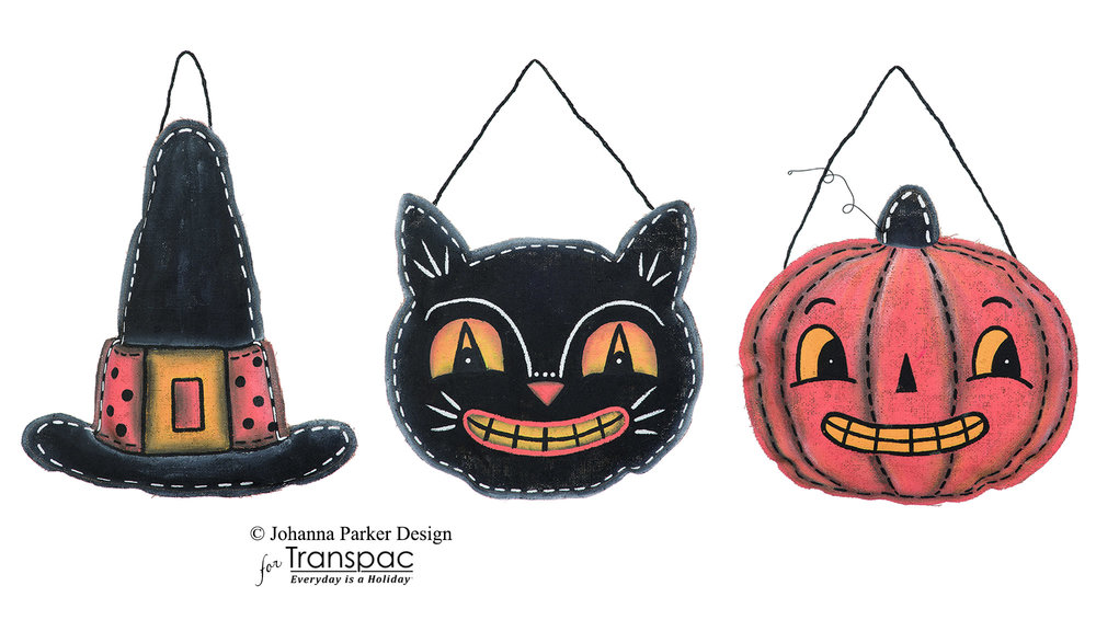 Halloween Canvas Hangers ~ Transpac Imports, Inc.