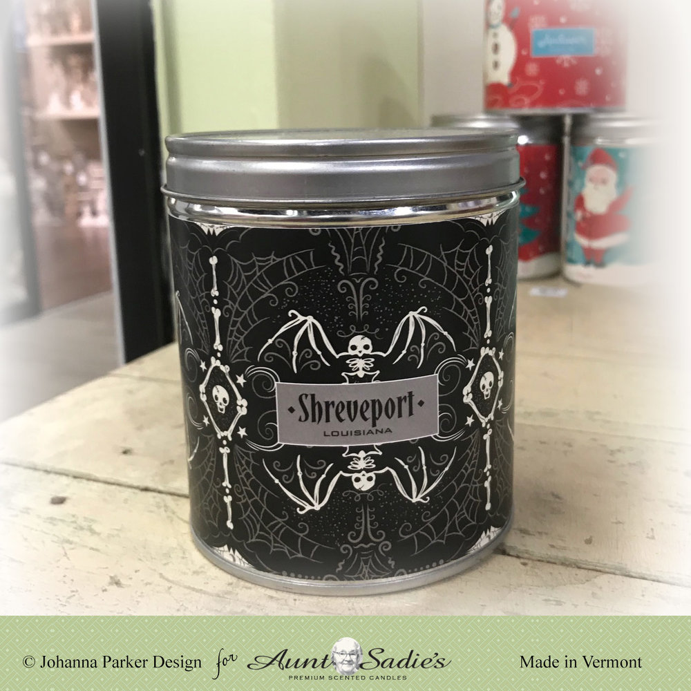 Personalized Candle Wraps ~ Aunt Sadie's Candles