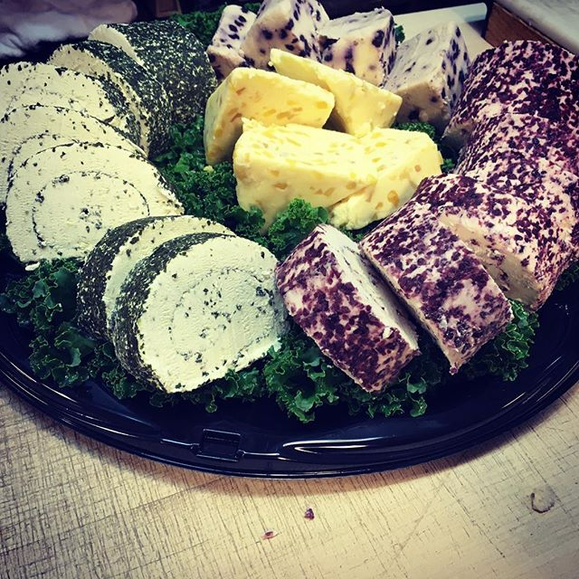 This tray features our French Herb Roule, Cranberry Roule, and English Stilton with Mango and Ginger.