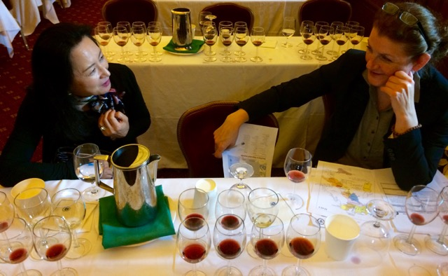 Sommelier Certificate Course students