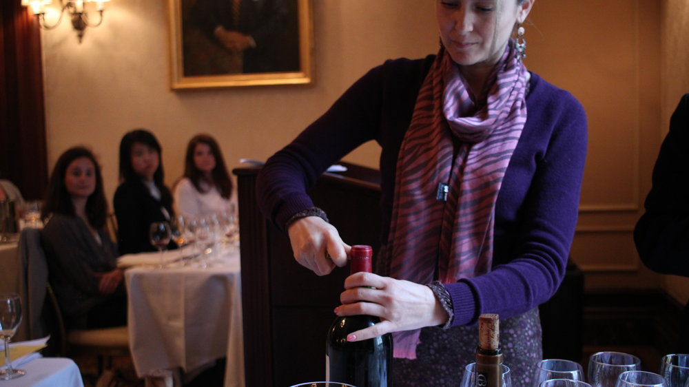Sommelier Society of America Certificate Course Bordeaux class