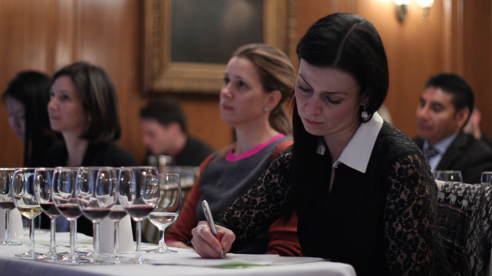 Sommelier Certificate Course classroom