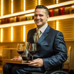 Yannick Benjamin, Head Sommelier University Club NYC