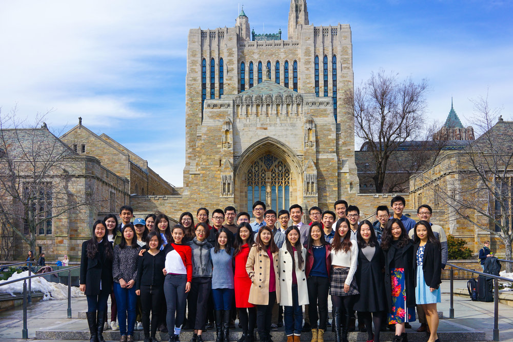 chinese undergraduate students at yale