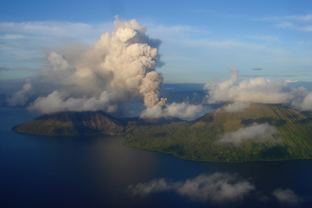 Papua NewGuinea 2008 - Intern at Rabaul Volcano Observatory