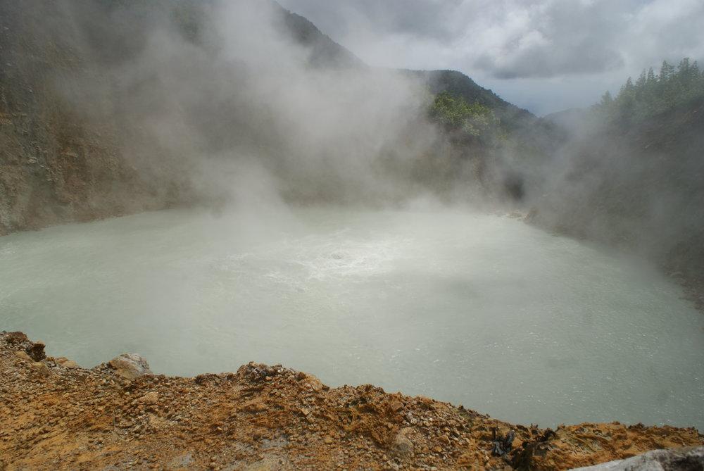 Carribean 2012 - Volcano Trekking