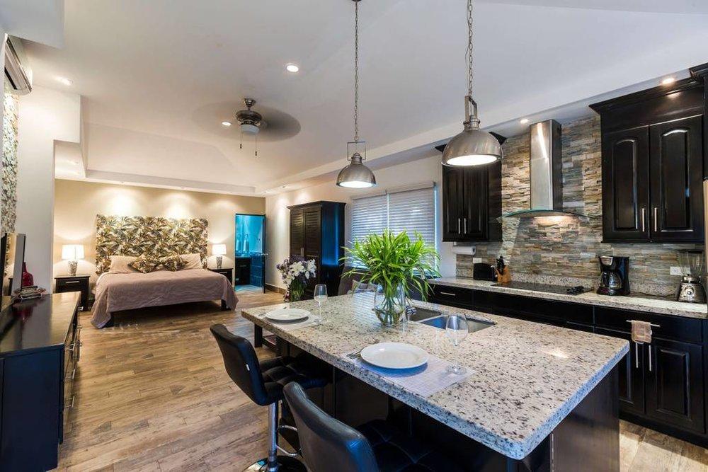 Villa Chameleon Deluxe Studio w/ King Bed and Full Kitchen
