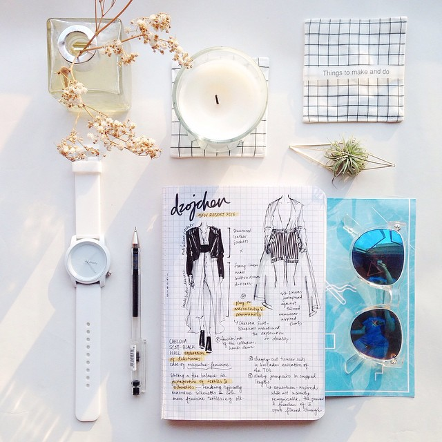 Notes from Singapore Fashion Week 2015. Courtesy of Weiqi