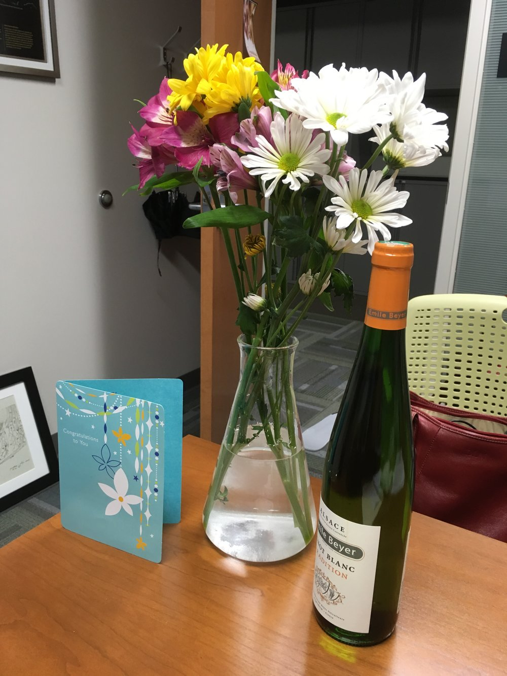 Sweet rewards - lab gift for Sloan Award