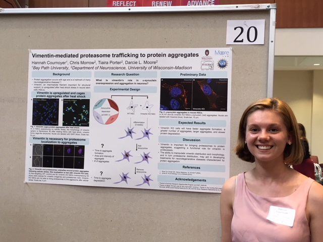 Hannah's poster session for SROP