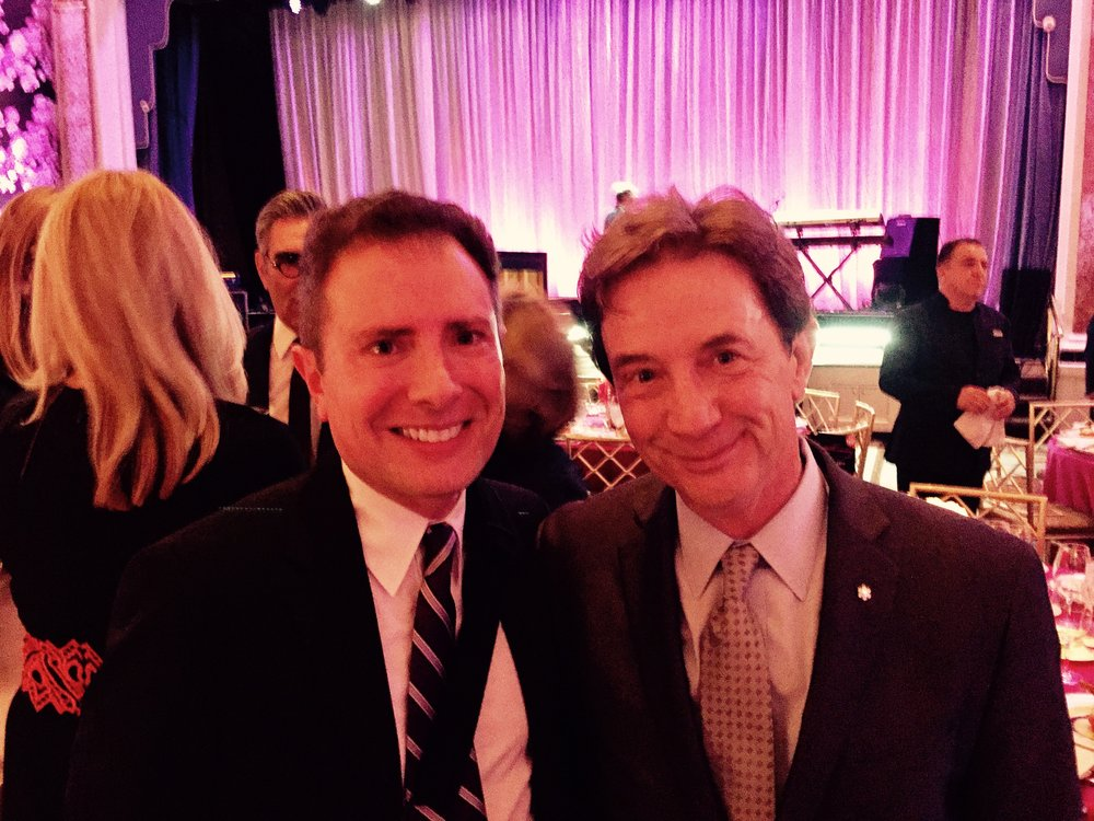 With Martin Short