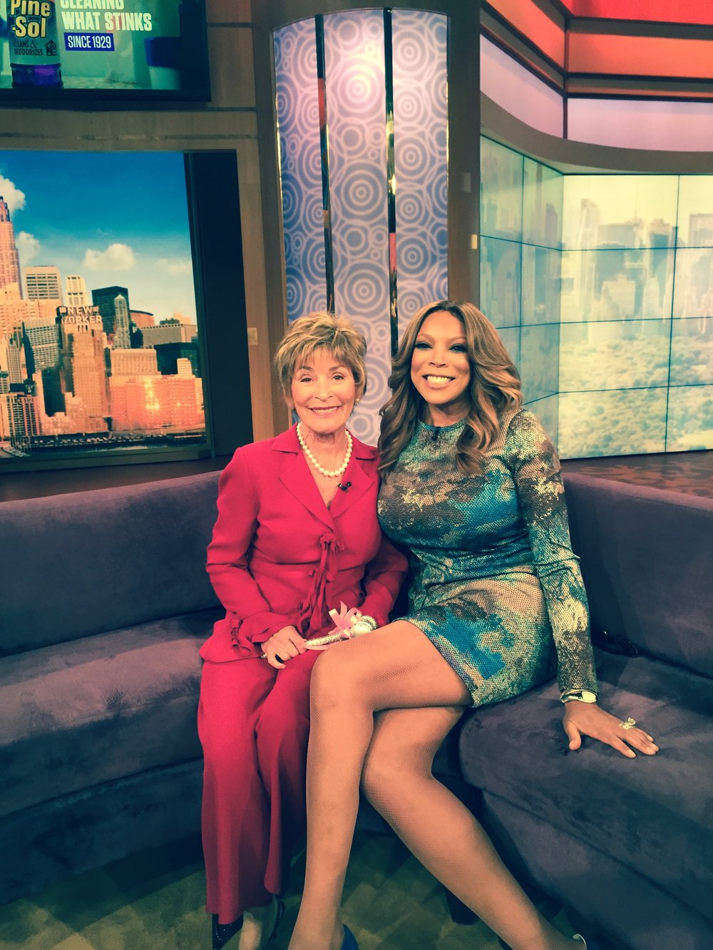 Judge Judy with Wendy Williams