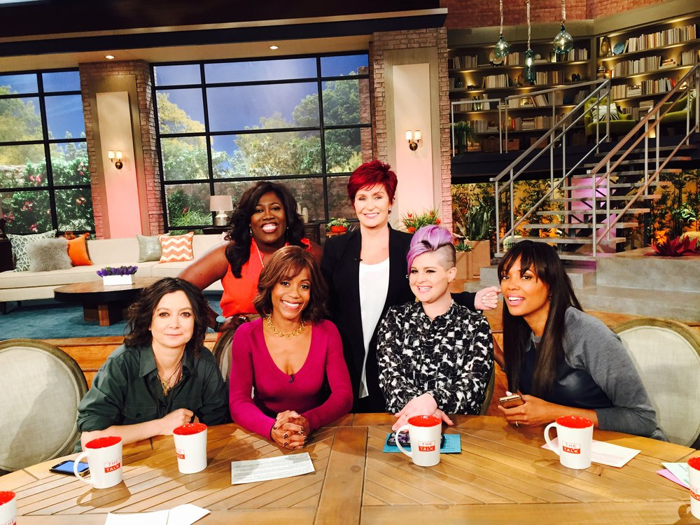 Tanya Acker on The Talk