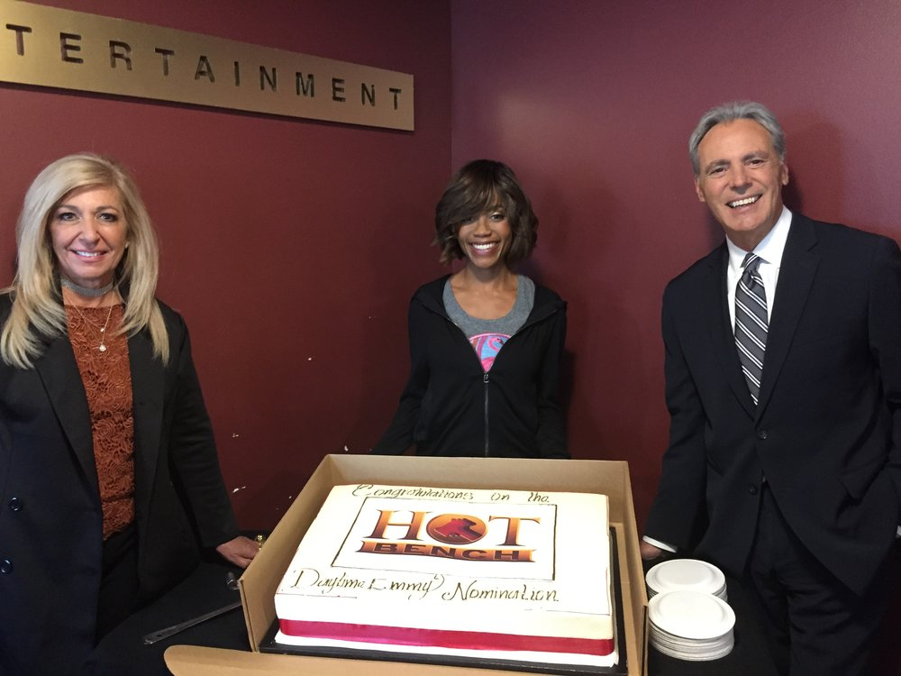 Hot Bench Judges Celebrating Daytime Emmy Nomination