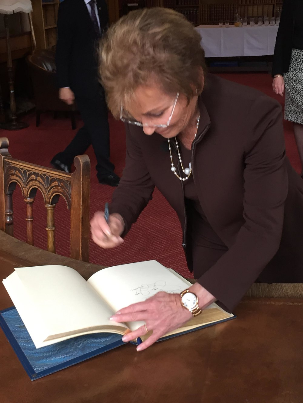 Judge Judy at the Oxford Union