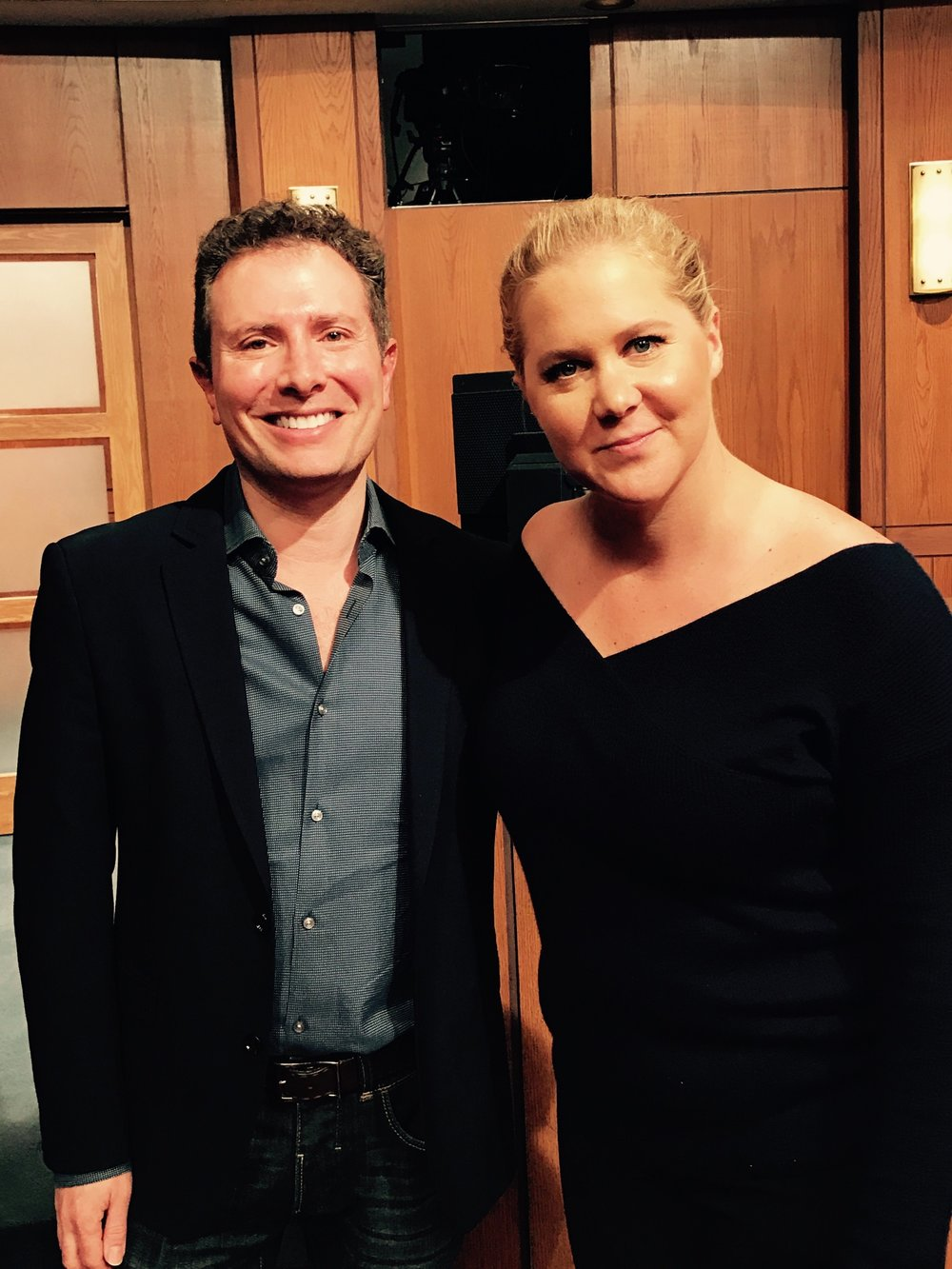 With Amy Schumer